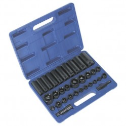 "Category image for 3/8"" & 1/2""Sq Drive Impact Socket Sets"