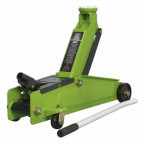 Image for Trolley Jack 3tonne Long Chassis Heavy-Duty Hi-Vis
