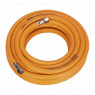 Image for Air Hose 10mtr x &#216 8mm Hybrid High Visibility with 1/4