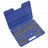 Image for TRX-Star/Security TRX-Star/Hex/Ribe/Spline Bit Set 74pc 3/8