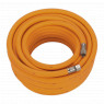 Image for Air Hose 15mtr x &#216 8mm Hybrid High Visibility with 1/4
