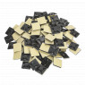 Image for Self-Adhesive Cable Tie Mount 25 x 25mm Black Pack of 100