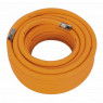 Image for Air Hose 15mtr x &#216 10mm Hybrid High Visibility with 1/4