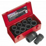 Image for Impact Socket Set 10pc Deep 1