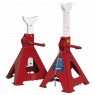 Image for Axle Stands (Pair) 5tonne Capacity per Stand Auto Rise Ratchet