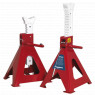 Image for Axle Stands (Pair) 10tonne Capacity per Stand Auto Rise Ratchet